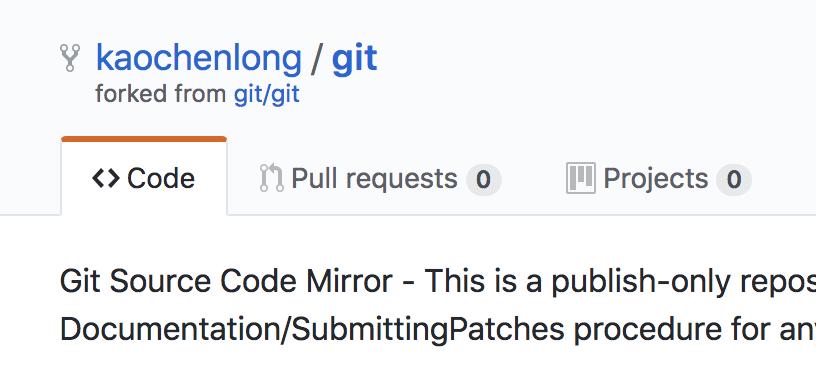 Git Fork