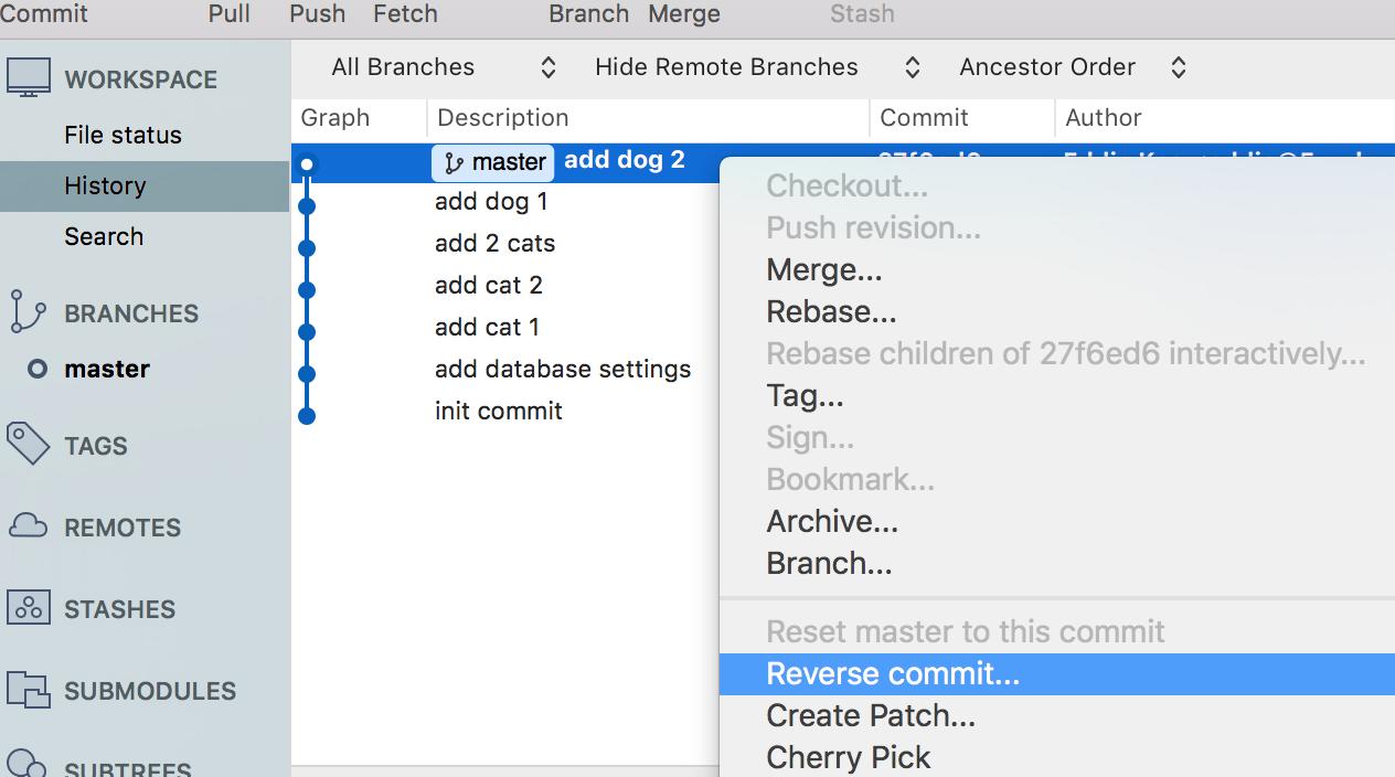 Reset、Revert 跟Rebase 指令有什麼差別? - 為你自己學Git   高見龍
